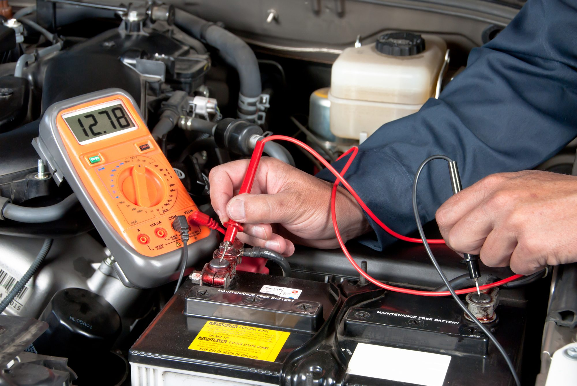 car battery test