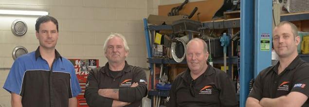 rodney autocentre team